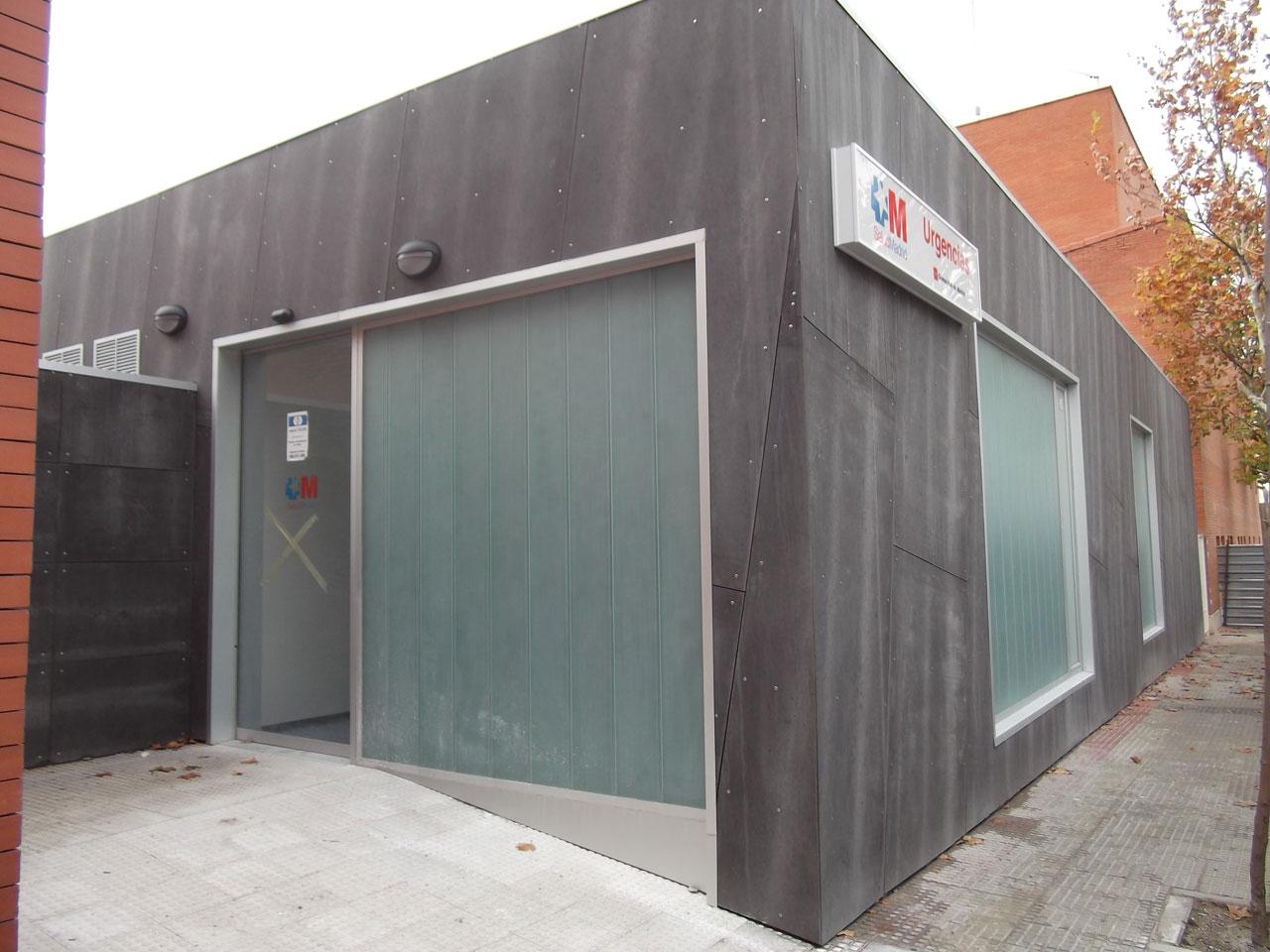 Obras de ampliación del Centro de Salud de Villanueva del Pardillo, Madrid