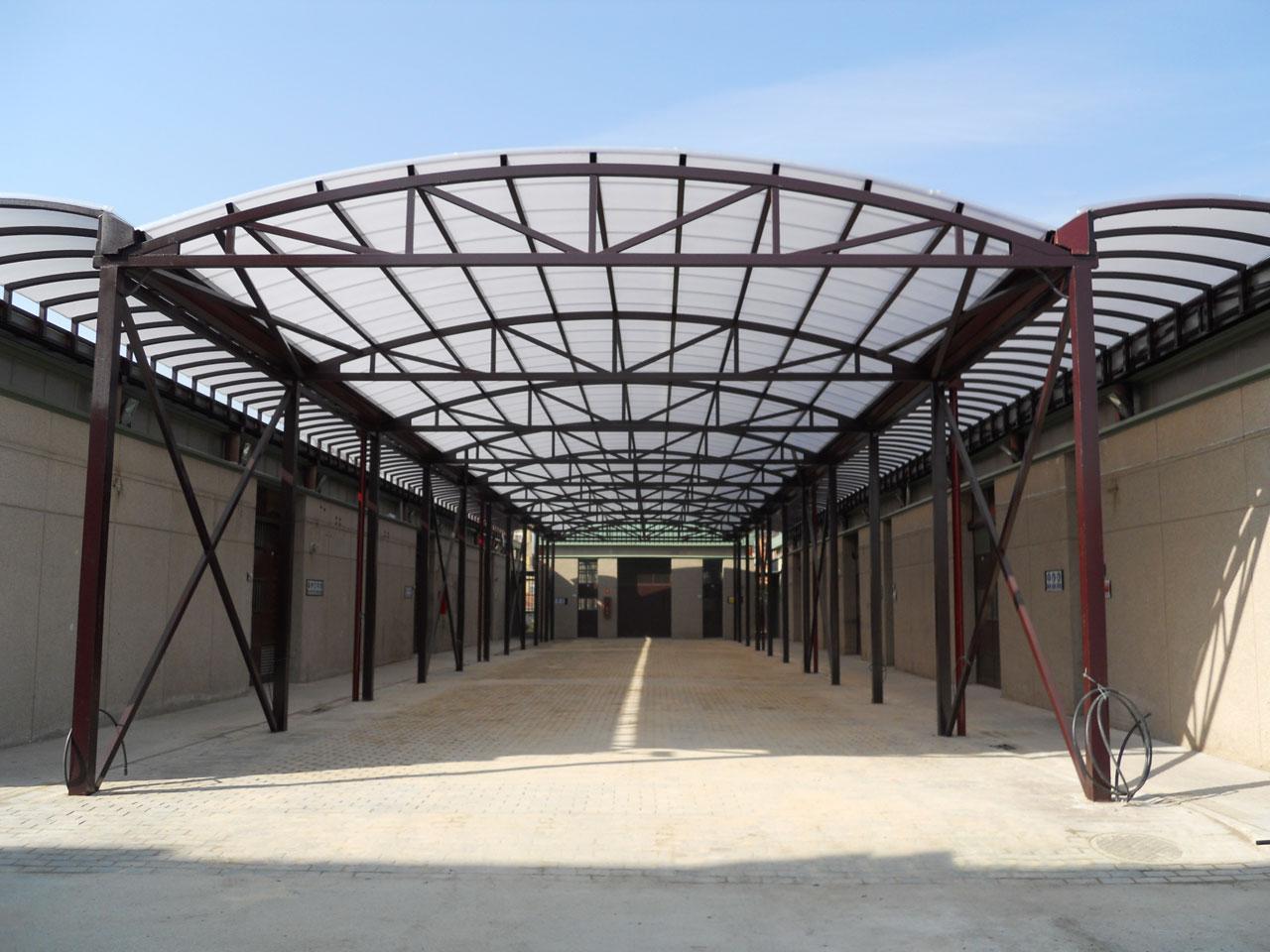 Obras de ampliación, adecuación y mejoras en los talleres del Centro de Formación 1º de Mayo, Leganés