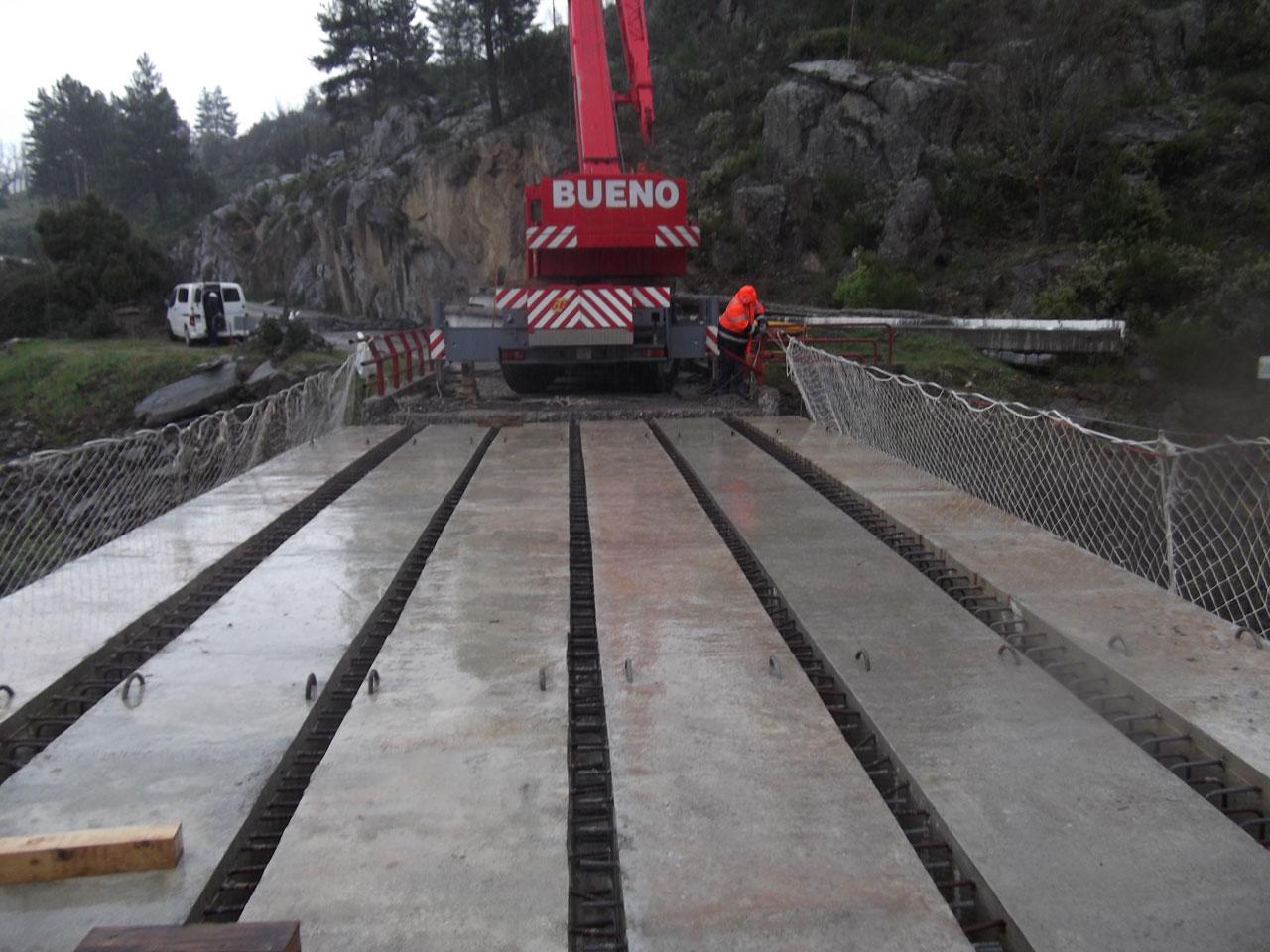 Rehabilitación de una estructura en la carretera M-137