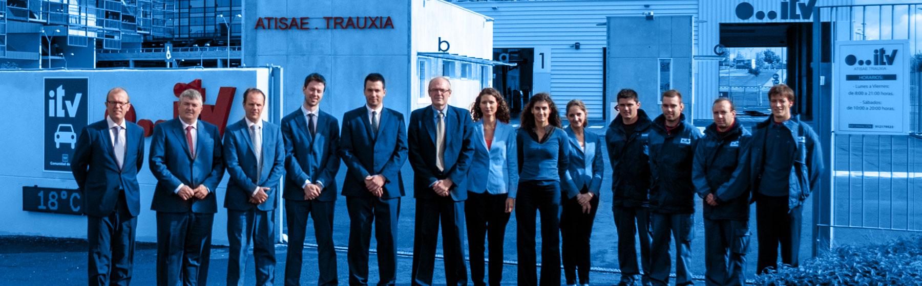 Equipo humano Trauxia