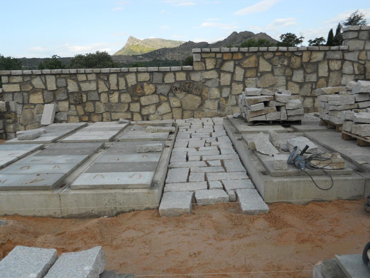 Ampliación del cementerio en El Berrueco