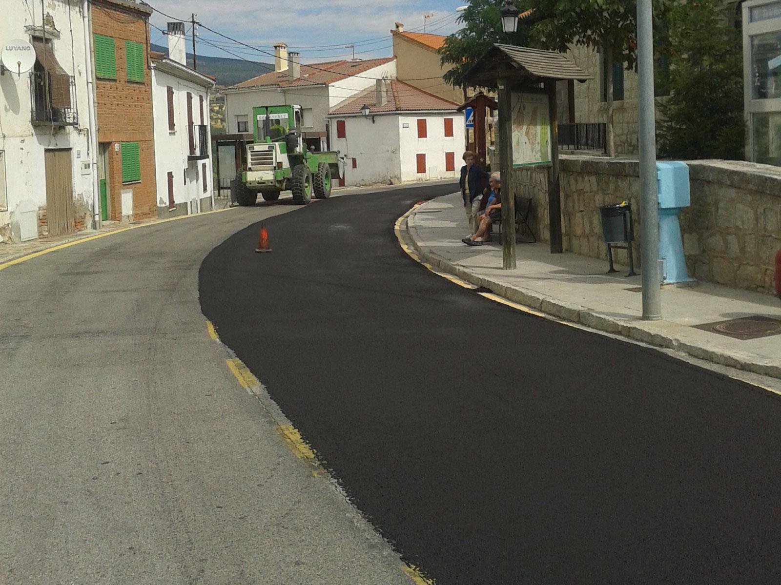 Mejora del firme y drenaje de la carretera M-141 del P.K. 0+000 al 9+525