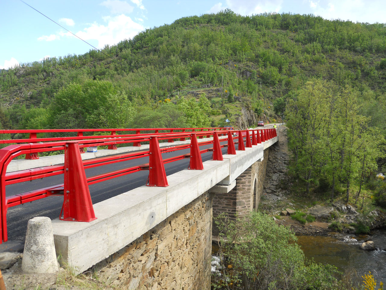 Rehabilitación de estructura en la Carretera M-137 P.K. 29+400