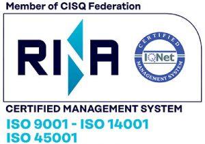 Certificado Trauxia RINA IQNet