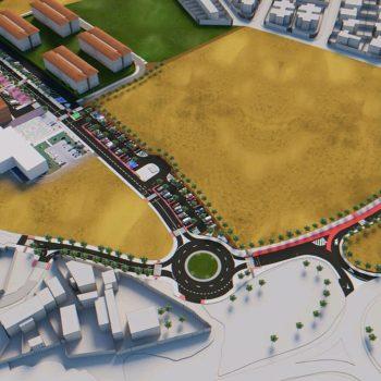 Adaptación de accesos al casco central de Mejorada del campo
