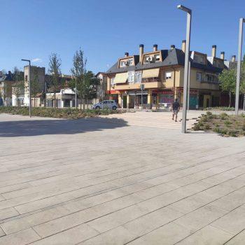 Obra Plaza de los Belgas