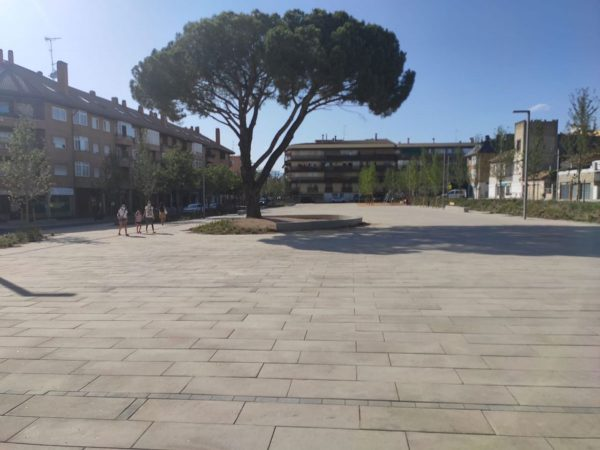 Remodelación de la Plaza de los Belgas en Collado Villalba